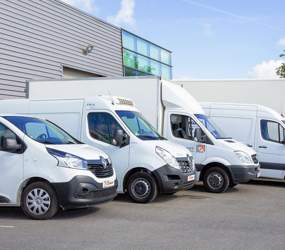 RTL delivery vans